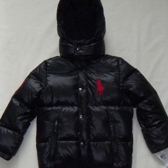 245a7526f Polo by Ralph Lauren Jackets & Coats | Boys Black Polo Ralph Lauren ...
